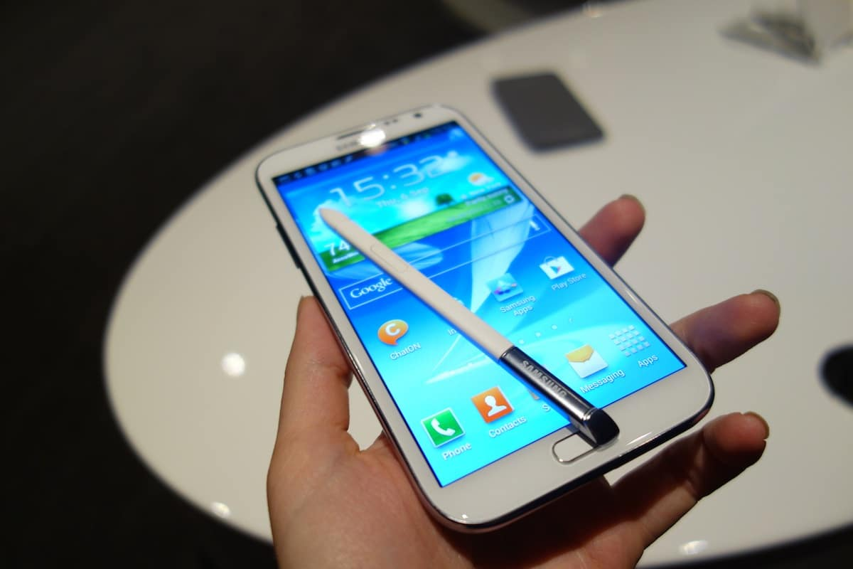 DSC00438 Samsung Galaxy Note II   First Impressions and Hands On
