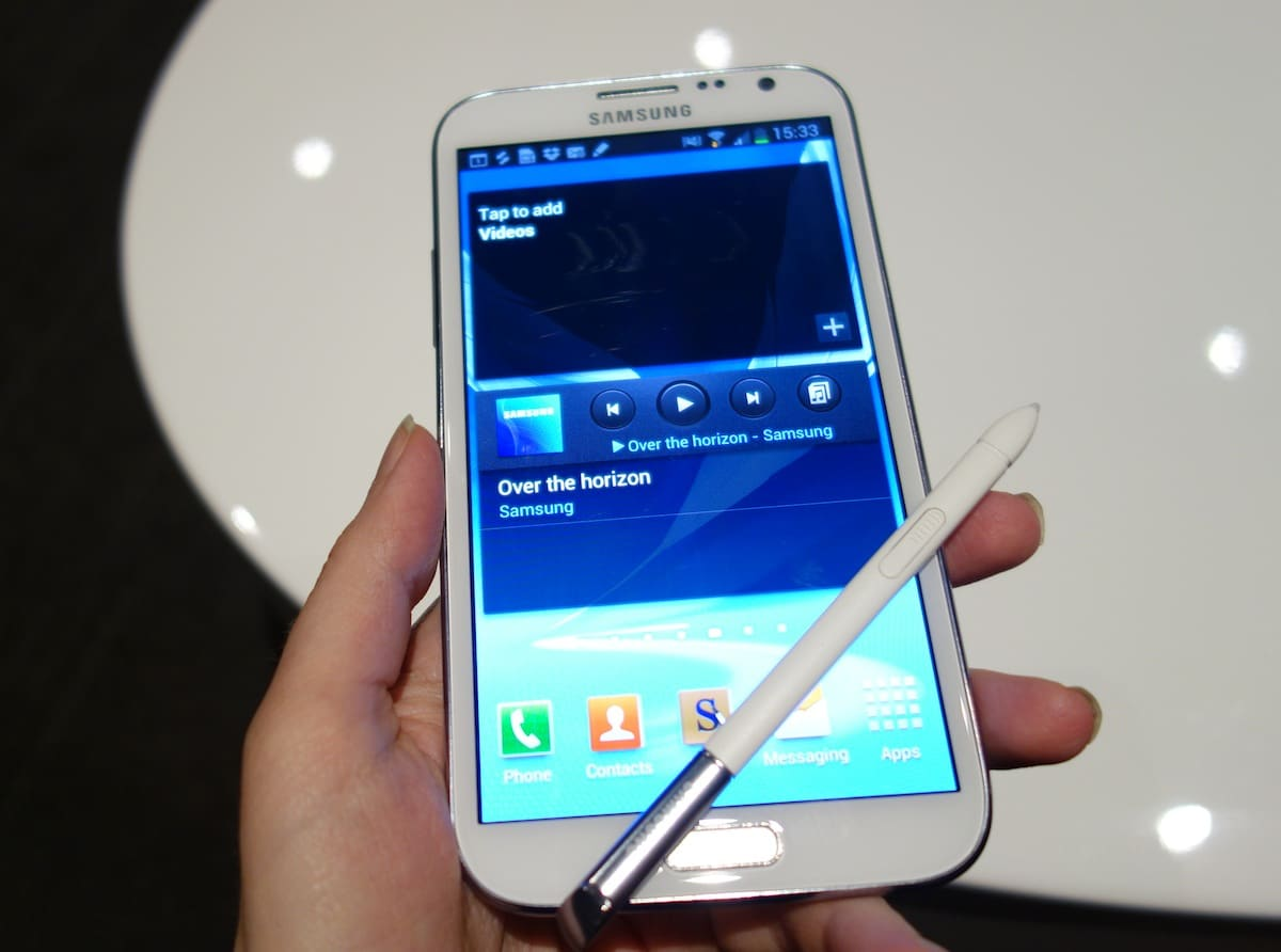 DSC00439 Samsung Galaxy Note II   First Impressions and Hands On