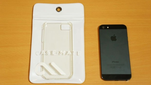 DSC00553 620x350 Case Mate Clear rPet Transparent Case for iPhone 5 Review