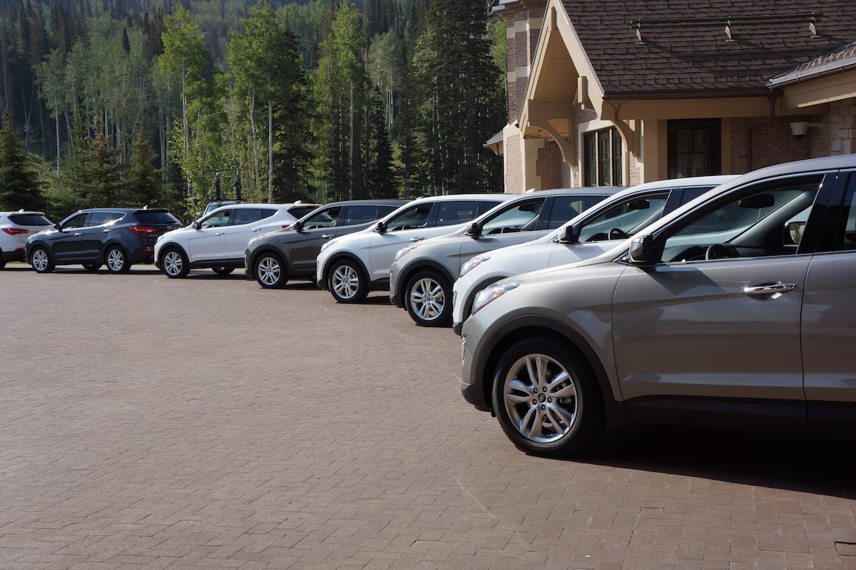 DSC00555 2013 Hyundai Santa Fe Sport Has Coming Out Party in Park City, Utah [Hands On]