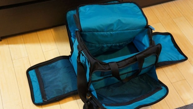 DSC04493 620x350 Skooba Laptop Weekender V.3 Review (Luggage)