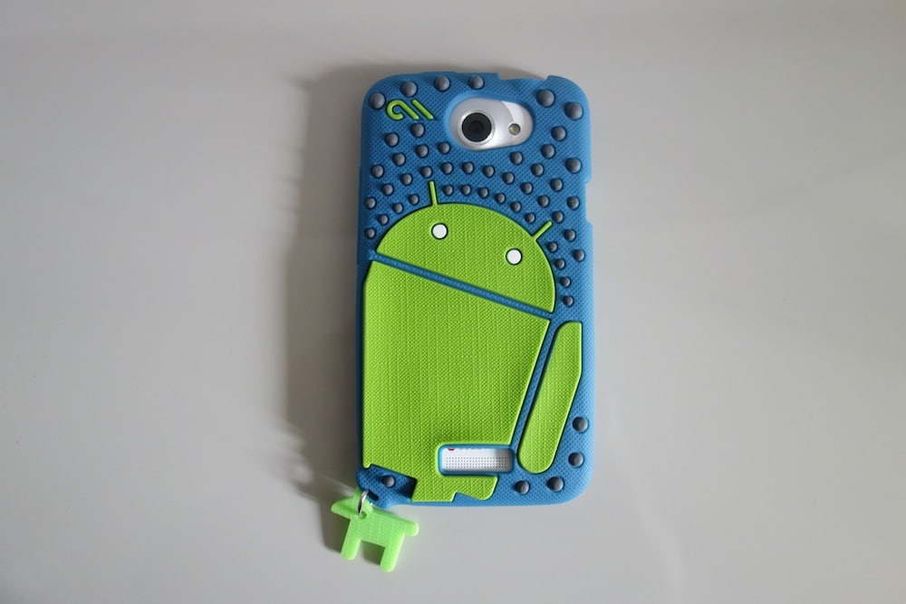 "DSC09977 Mike"" the Droid creature HTC One X/XL Case Review"