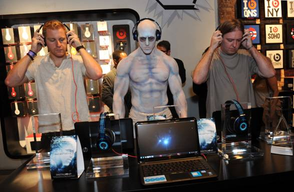 Prometheus Celebrates Digital HD Launch with Custom Beats Headphones