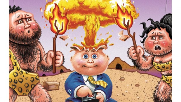 AdamHistory 620x350 Garbage Pail Kids Are Back With Brand New Series of Cards