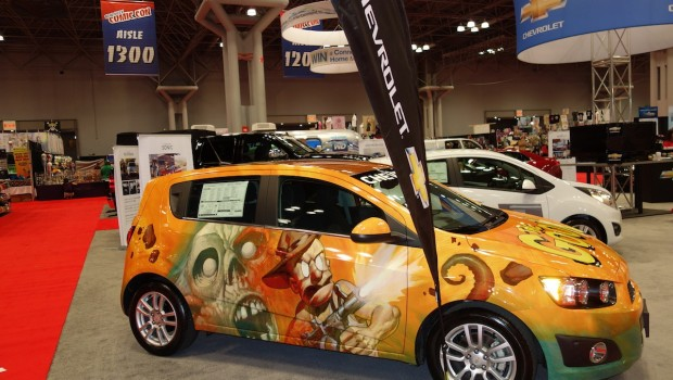 DSC01578 620x350 New York Comic Con Preview: Buffy Mobiles, Wrapped Chevy Sparks and More