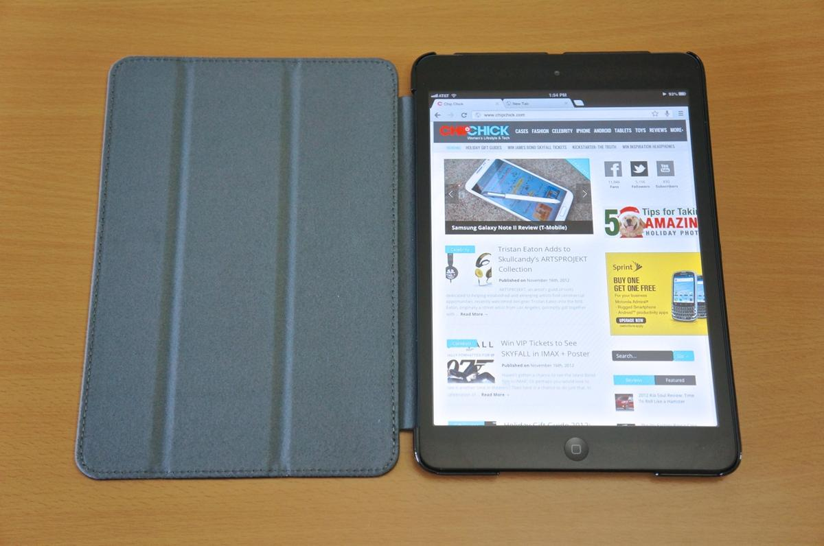 DSC01082 Kensington Protective Cover & Stand for iPad Mini review