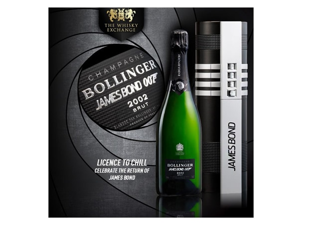 bollinger1 Youll Need James Bond To Open this Bottle of Bollinger