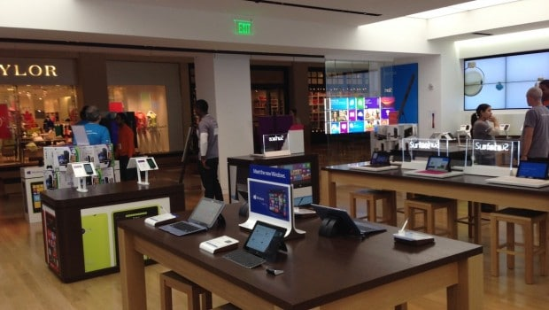 photo 13 620x350 New Microsoft Stores Take Cues from Apple Retail