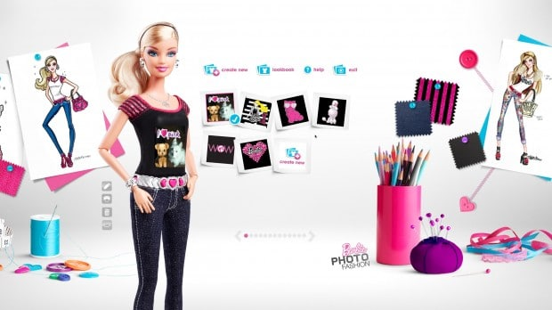 screenshot 546 620x348 Barbie Photo Fashion Doll Review: Smile! You are on Barbies Chest