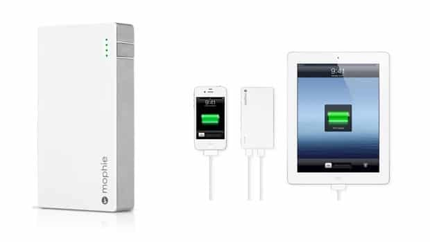 mophie 620x350 Mophie Juice Pack Powerstation Duo External Battery Keeps Your iOS Devices Juiced