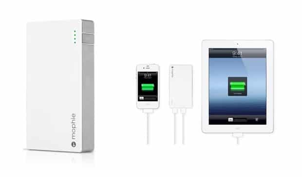 mophie Mophie Juice Pack Powerstation Duo External Battery Keeps Your iOS Devices Juiced