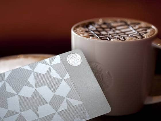 xxx starbucks steel gift card 4 3 r560 $450 Steel Starbucks Gift Card is for the One Percenters
