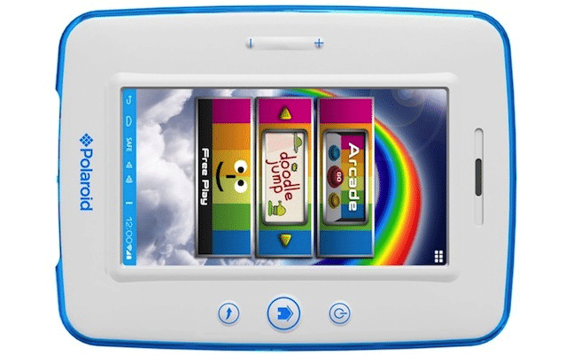 Polaroid Kids Tablet CES  Polaroids Kids Tablet is Tough And Safe
