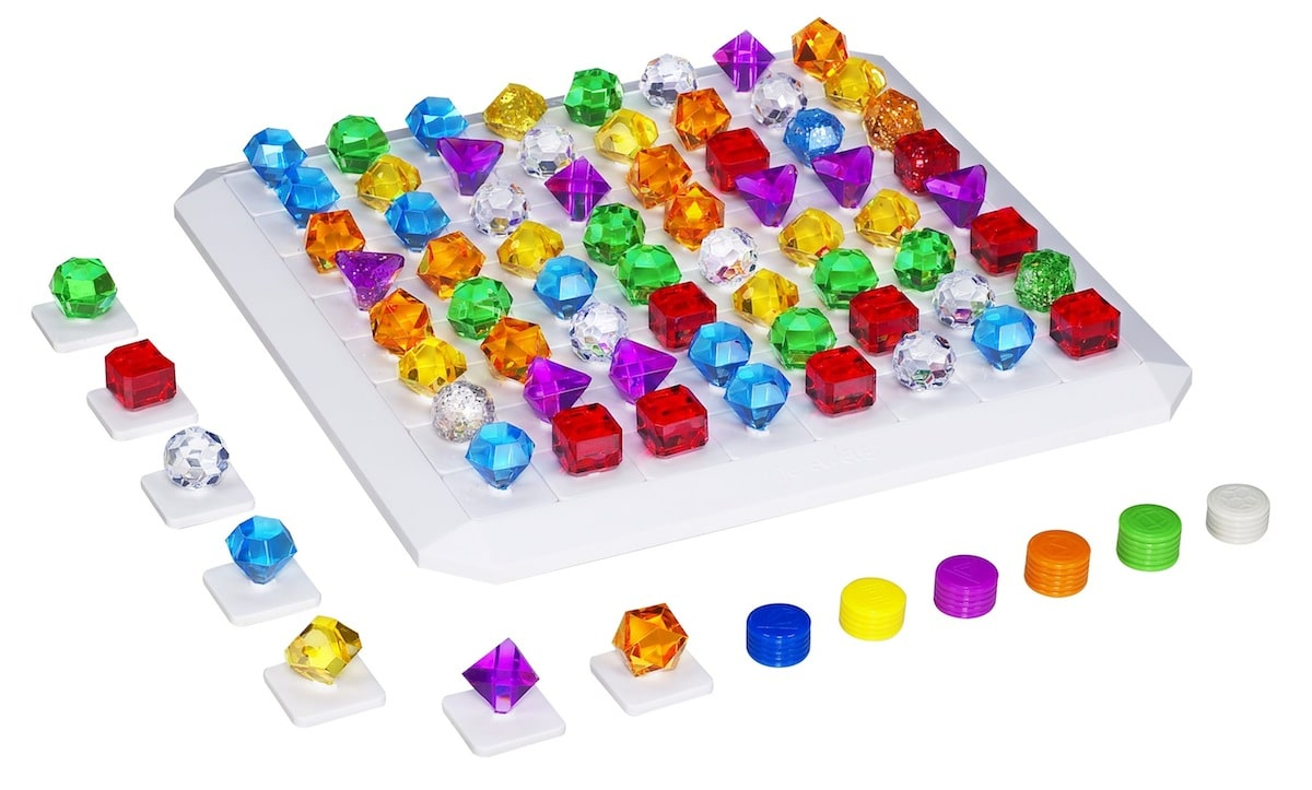 Bejeweled Out of Pack1 Hasbro Transforms Bejeweled into Board Game