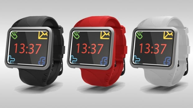 vea buddy 08 620x348 VEABuddy Bluetooth Watch Strives To Be the Next Pebble