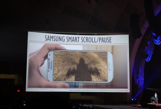 DSC09362 620x420 Samsung Makes the Galaxy Smarter with the S4 [Hands on]