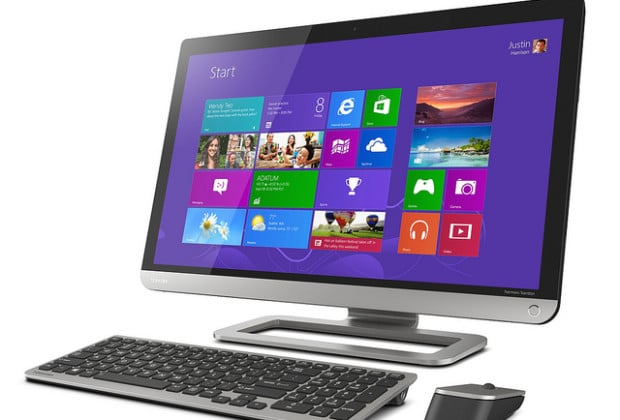 8938604021 6cec6e2770 z 620x420 Toshiba PX35t is a TV and Touchscreen All In One PC