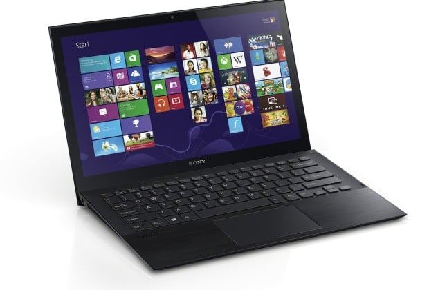 Pro 13 Black Touch 03 front right startscreen 620x420 Sony VAIO Pros are the Lightest Ultrabooks Ever