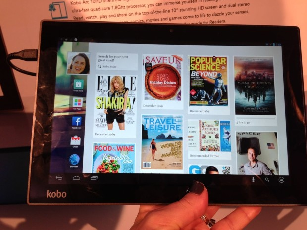 Photo Aug 27 7 54 00 PM 620x465 Kobo Debuts Aura HD e Reader and Arc Tablets [Hands on]