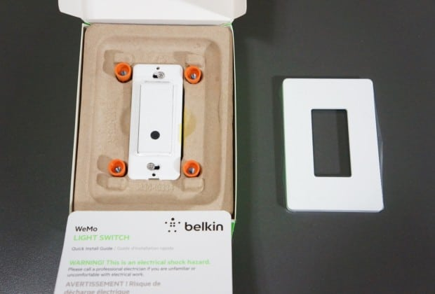 DSC04448 620x420 Belkin WeMo Light Switch Lets You Control Your Lighting From Anywhere [Review]