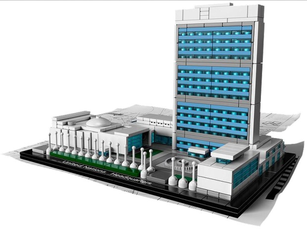 un building  620x463 United Nations Gets a LEGO Makeover