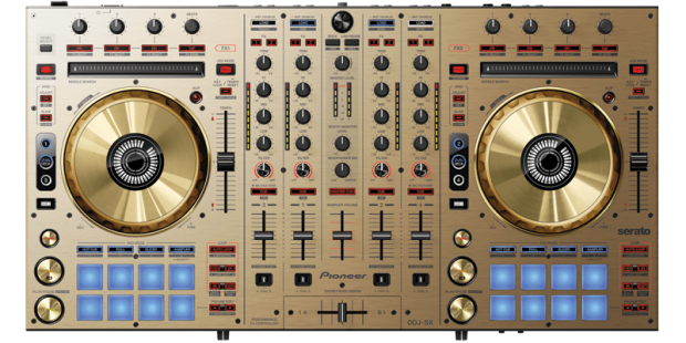 DDJ SX N top 800x400 620x310 Pioneers DDJ SX N Controller is Golden