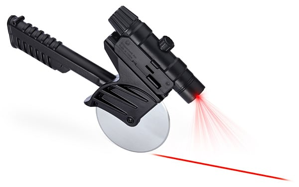 149f tactical laser guided pizza cutter ThinkGeek Kicks Off 2014 With Some New Necessities