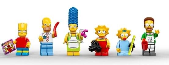 550 Simpsons family and Ned The Simpsons LEGO Set is Pretty Much Irresistible