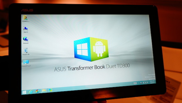 DSC01312 620x350 Hands on with the ASUS Transformer Book Duet TD300