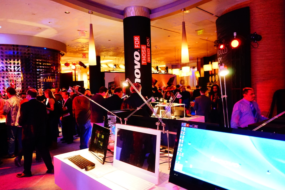 DSC01651 Lenovo Crowned PC Champ, Collects Over 40 Awards at CES 2014