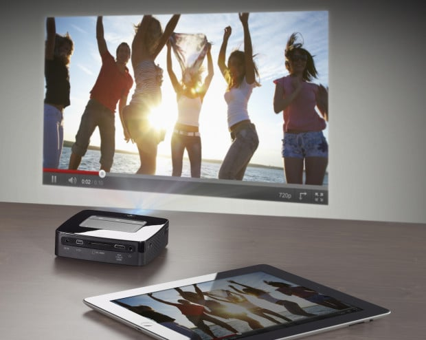 picPPX3610 iPad HR small 620x494 Behold, the Pocketable YouTube Projector