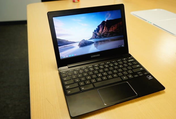 DSC02944 620x420 Samsung Chromebook 2 Series Takes Cues from the Galaxy Note 3