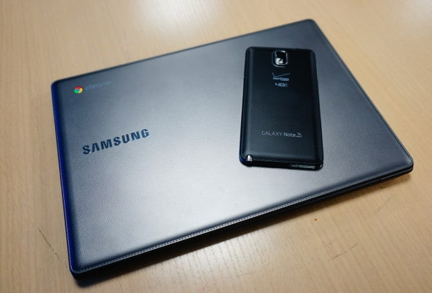 DSC02955 620x420 Samsung Chromebook 2 Series Takes Cues from the Galaxy Note 3