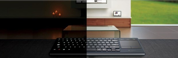 glow 620x202 Logitech K830 Keyboard Glows with Each Keystroke