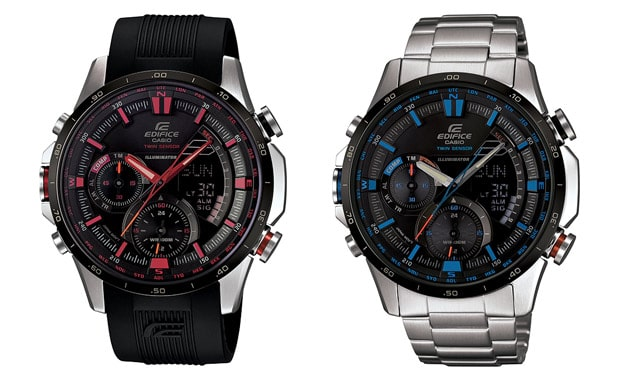 casio Edifice ERA300 Watches Pack in Digital Compass and Thermometer