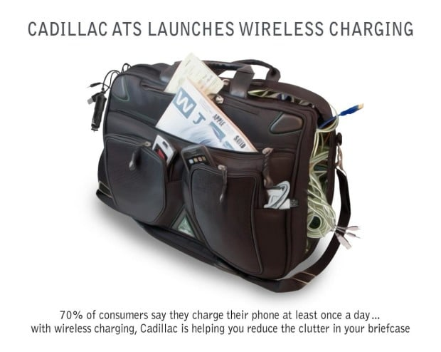 2015 Cadillac ATS Gets Wireless Charging