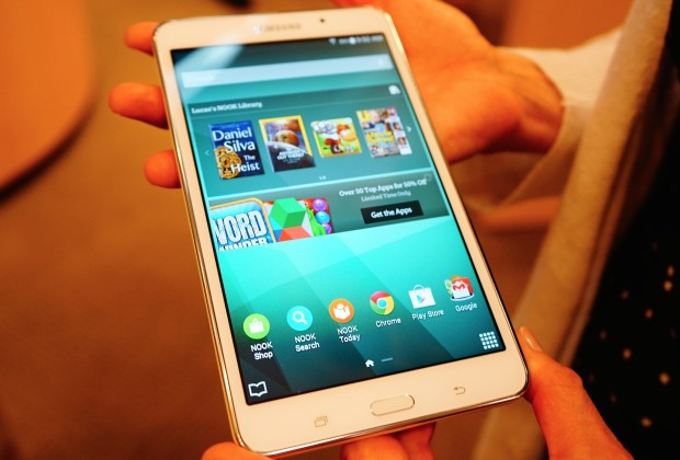 bn8 620x420 Samsung Galaxy Tab 4 Nook is a Budget Tablet for Bookworms