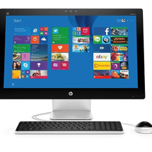 HP Pavilion All-in-One, front facing