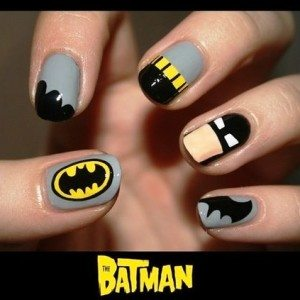 batman-nail-art